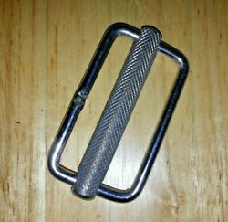 New Old Stock Marine Self Locking Tightening Stainless Buckle 2 X 1 W/ss Slide