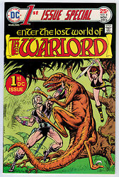 First Issue Special 8 9.2 High Grade Dc 1st Warlord Ow/w Pgs 1975 Key Book 🔑