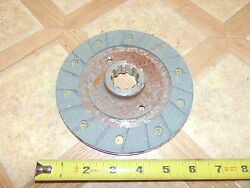 Nos Vintage Ppt Passepartout Twin Tracked Vehicle Clutch Plate Assy