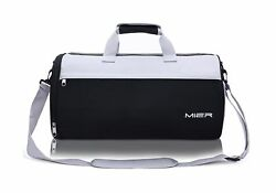 MIER Barrel Travel Sports Bag for Women and Men Small Gym Bag with Shoes Comp...