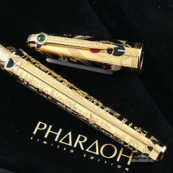 S.t. Dupont Pharaoh Limited Edition Fountain Pen - M - 1315/2575