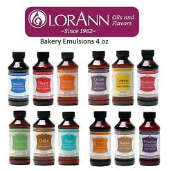 Lorann Emulsion 4 Oz Bakery Emulsions Choose From 26 Flavors Cookies Cakes