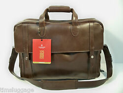 Victorinox 125th Anniversary Limited Travel Bag Leather Carry-On Only 125 Made!