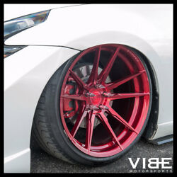 20 Rohana Rfx2 Red Forged Concave Wheels Rims Fits Nissan 370z