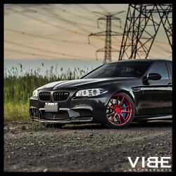 20 Rohana Rfx2 Red Forged Concave Wheels Rims Fits Bmw F10 M5
