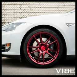 20 Rohana Rfx2 Red Forged Concave Wheels Rims Fits Benz W220 S430 S500 S55