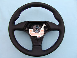 Bmw Euro Sports Steering Wheel With Thumb Rests E36 M3 New Plain/perf.leather
