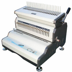 Akiles Combmac-24e Electric Heavy Duty Electric Punch And Manual Comb Opener