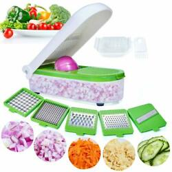 Freshware Chop Wizard Chopping Dicing Vegetables Fruit Cheese With Container New