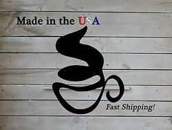 Coffee Cup Sign, Business Decor, Coffee Shop Art, Metal Wall Sign, Kitchen,s1195