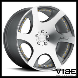 20 Mrr Vp3 Gunmetal Concave Wheels Rims Fits Ford Mustang Gt
