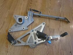 Buell S2 Isolator Mount Mid Frame Kickstand Side Stand Peg Assembly