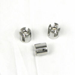 10pcs Set- Stainless Steel Type 316 Cross Cable Clamps For Cable Trellis