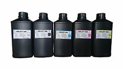 5x1000ml Premium Led Uv Curable Ink For Mimaki Jfx500-2131 Lus-150 Lus-200 Ink