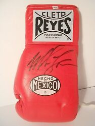 Mike Tyson Autographed Cleto Reyes Leather Boxing Glove - New - Free Shipping