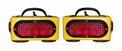 Towmate Wireless Tow Lights With Side Marker For Wrecker Tow Truck Car Hauler