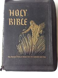 Holy Bible Spiritual Harvest Edition 1955 Book Production Industries