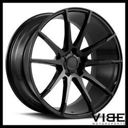 20 Savini Bm12 Gloss Black Concave Wheels Rims Fits Pontiac G8 Gt