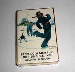 New  2 Never Opened Pepsi Cola Deck Of Playing Cards Coca Cola, Coke, Pepsi