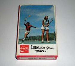 New Never Opened Coca Cola Coke Adds Life To Sports Deck Of Playing Cards