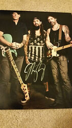Winery Dogs Signed Autographed 8x10 Photo Mike Portnoy Billy Sheehan Richie K C