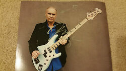 Billy Sheehan Signed Autographed 8x10 Photo Mr Big Winery Dogs David Lee Roth A