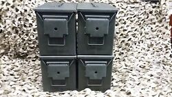 (4 PACK) FAT 50 CAL PA108 SAW BOX AMMO CAN VERY GOOD CONDITION *FREE SHIPPING *