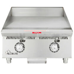 Star 824ta 24 Countertop Gas Griddle W/ Thermostatic Controls