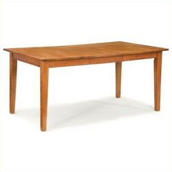 Home Styles Arts And Crafts Dining Table In Cottage Oak