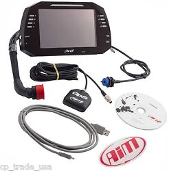 Aim Sport Mxg Dash Data Logger With 7 Inch Colour Tft Display For Motorsports