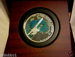 The Land Down Under Andndash Great Barrier Reef 2014 5oz Silver 400 Mint Treasure Map