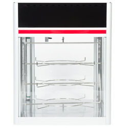 Hatco Fsd-1 Countertop Hot Food Display Case With 3 Tier Circle Rack