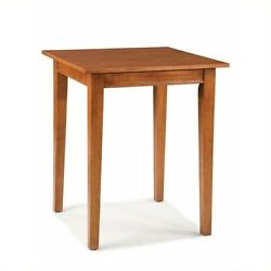Home Styles Arts And Crafts Solid Wood Pub Table In Cottage Oak