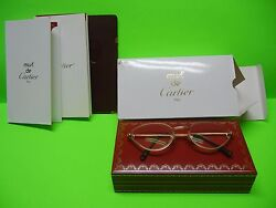 Rivoli Vintage Cat Eye Glasses 18k Plated Gold 54-19 With Free Shipping