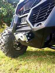 X3 Front Bumper With Winch Mount, Low Profile