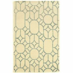 Bowery Hill 8and039 X 11and039 Hand Tufted Rug In Ivory And Turquoise
