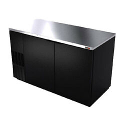 Fagor Fbb-69 69.63 Refrigerated Back Bar Cabinet With 2 Solid Doors