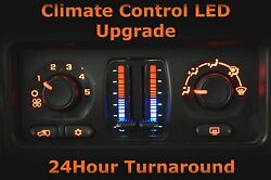 GM Chevy Temperature AC Climate Control LED Back-lighting Upgrade