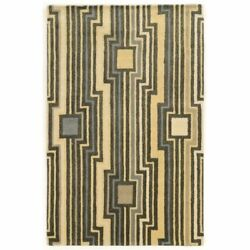 Bowery Hill 8and039 X 11and039 Hand Tufted Rug In Gray And Blue