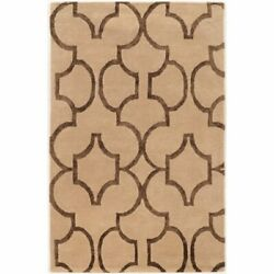 Bowery Hill 8and039 X 11and039 Hand Tufted Rug In Beige And Brown