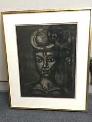 Georges Rouault Acquatint Misere Series Plate 17 Signed In Pencil