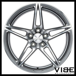 20 Ace Aff01 Flow Form Silver Concave Wheels Rims Fits Cadillac Cts V Coupe