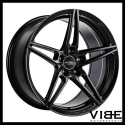 20 Ace Aff01 Flow Form Black Concave Wheels Rims Fits Ford Mustang Gt Gt500