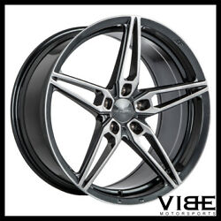 20 Ace Aff01 Flow Form Grey Concave Wheels Rims Fits Honda Accord Coupe