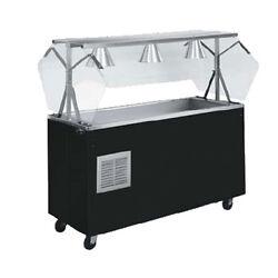 Vollrath R38716 Affordable Portable Refrigerated Serving Counter - 4-Pan Size
