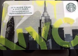 Lot Of 100 - 2016 Nyc Starbucks Gift Cards. No Value Brand New Ready To Ship.