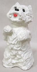 Vintage Sandicast West Highland Westie Terrier Figure