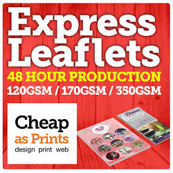 48hr Leaflets And Flyer Printing | Colour A6 Dl A4 A4 A3 Flyers And Leaflets
