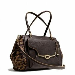 Coach Madison Mixed Haircalf Madeline East/west Satchel