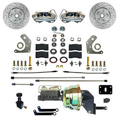 Mopar B And E Body Front Power Disc Brake Conversion Kit With Maxgrip Xds Rotors